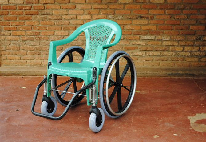 Make-Shift Wheelchair